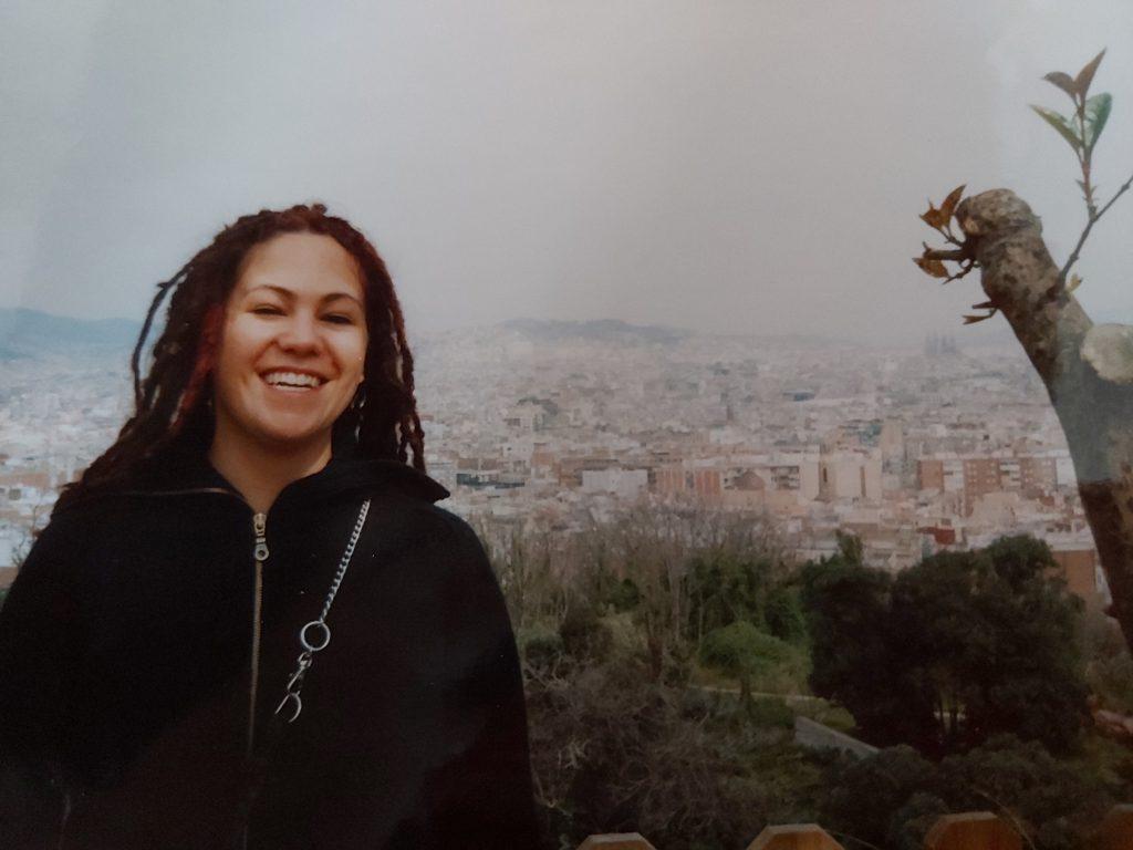 Me in Barcelona in 2003