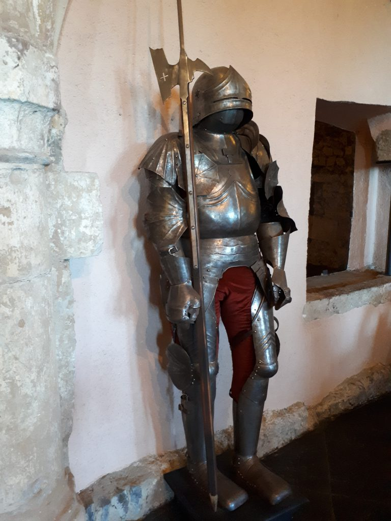 Knight at Castle of Vianden
