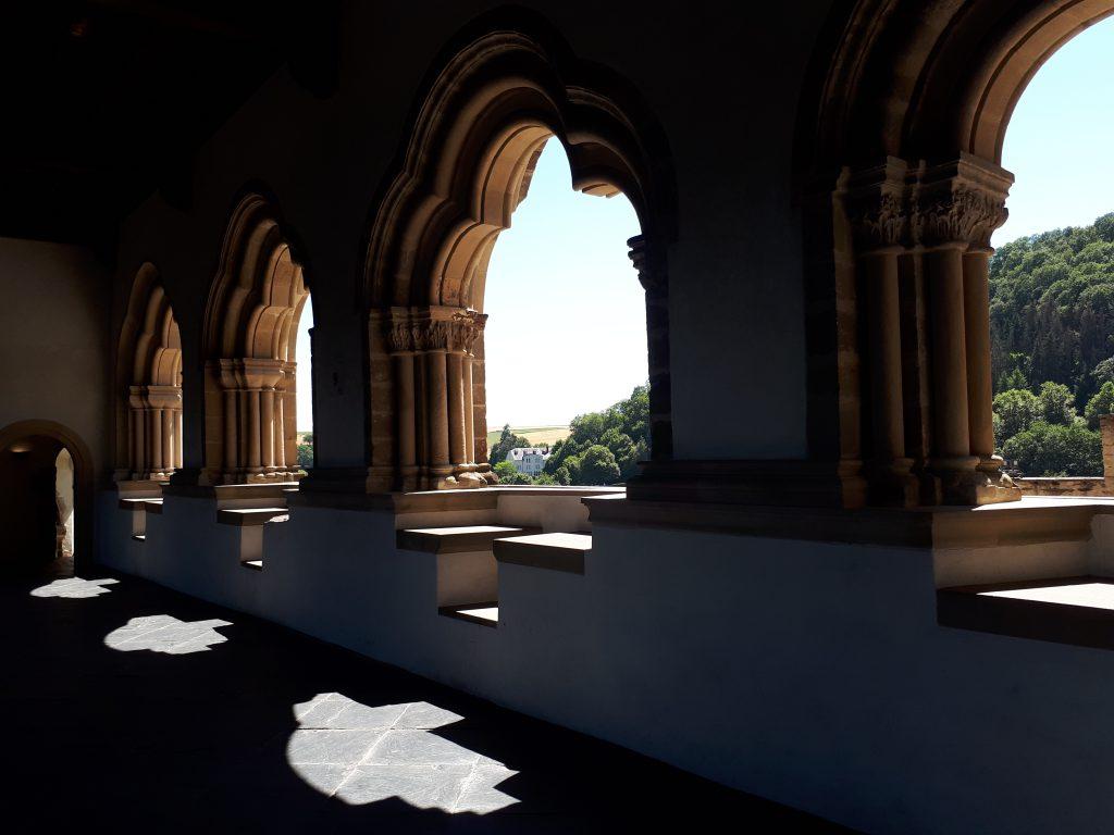 Gallery in Castle of Vianden