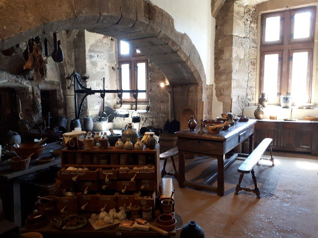 Kichten of Castle of Vianden