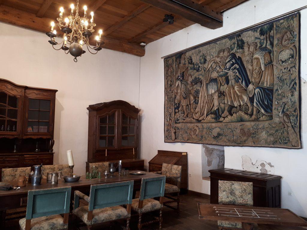 Room in Castle of Vianden