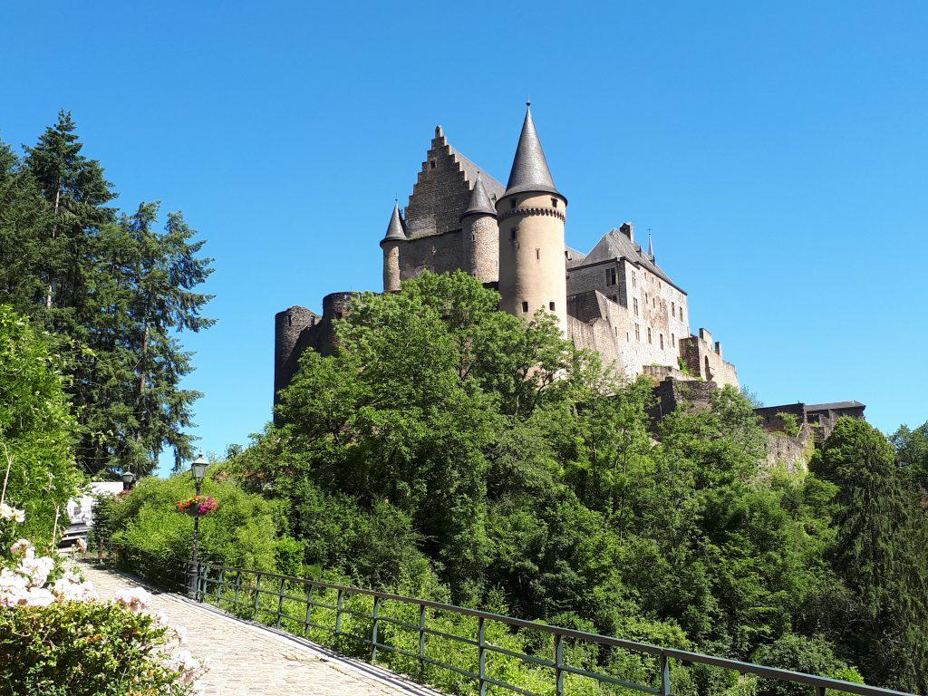 Road to Castle of Vianden