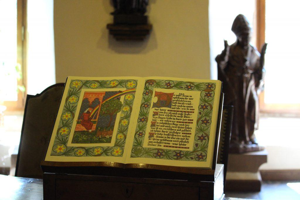 Book in Castle of Vianden