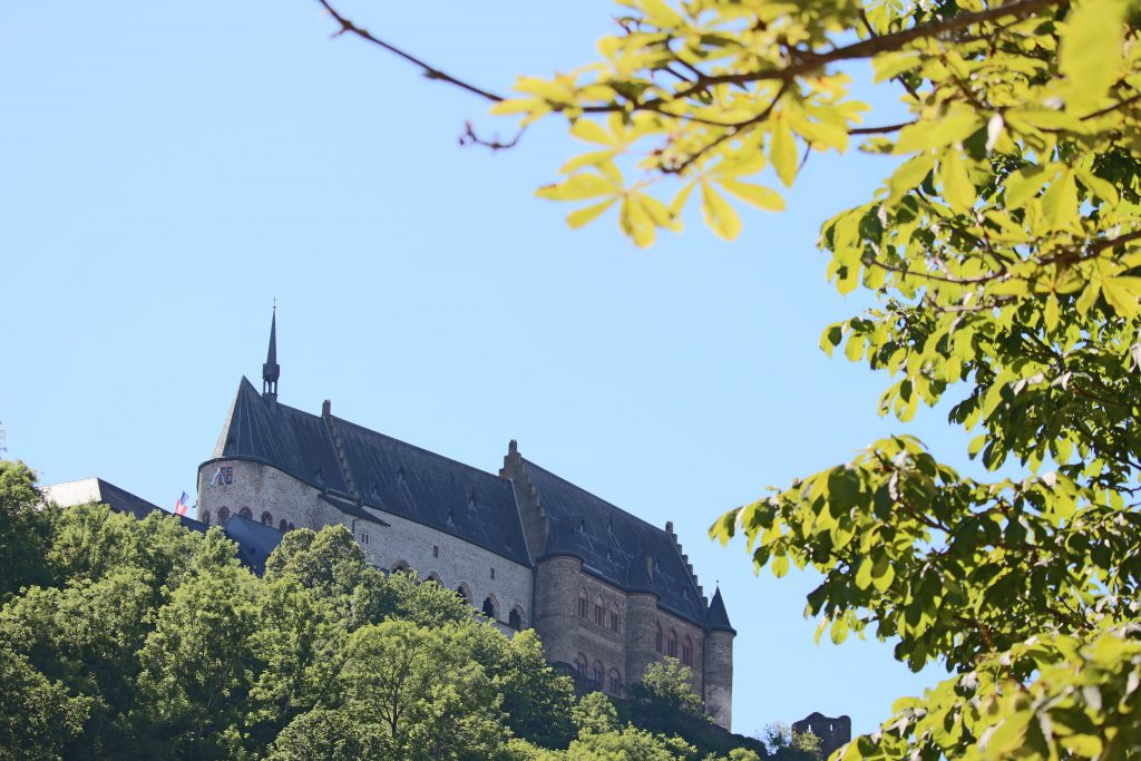 View on Castle of Vianden