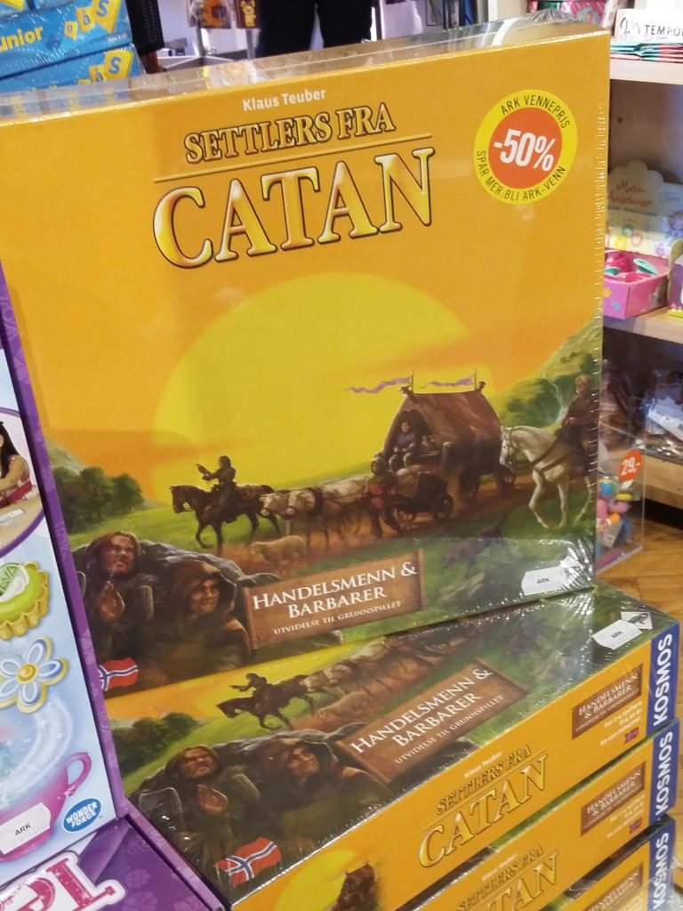 Norwegian Catan
