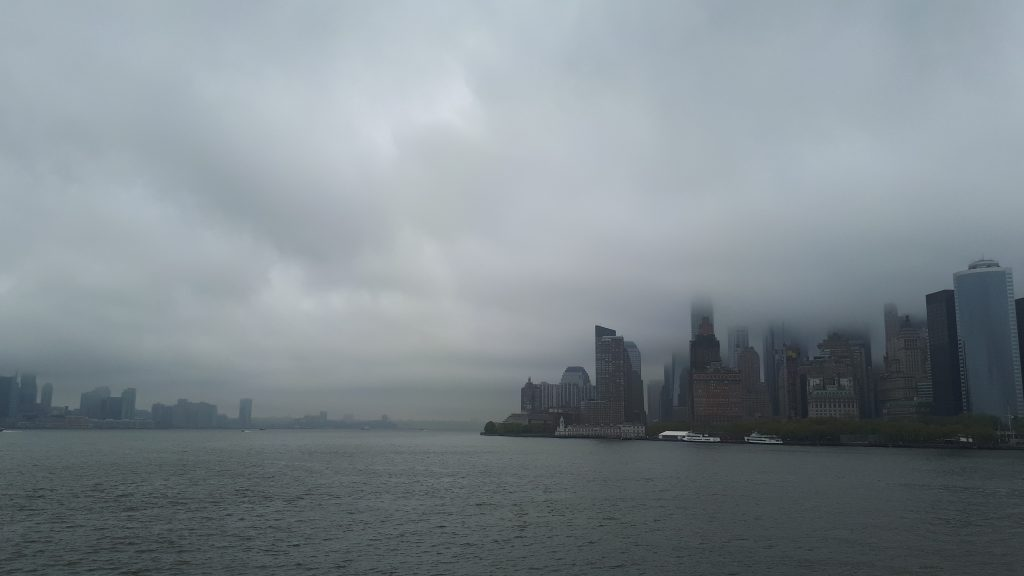 New York seen from the ferry