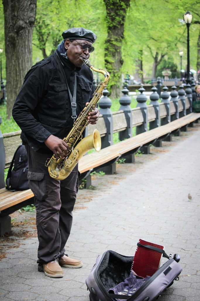 Lots of musicians practice here