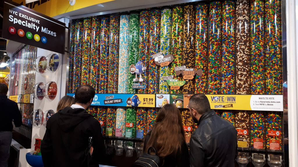 M&M's in many flavours