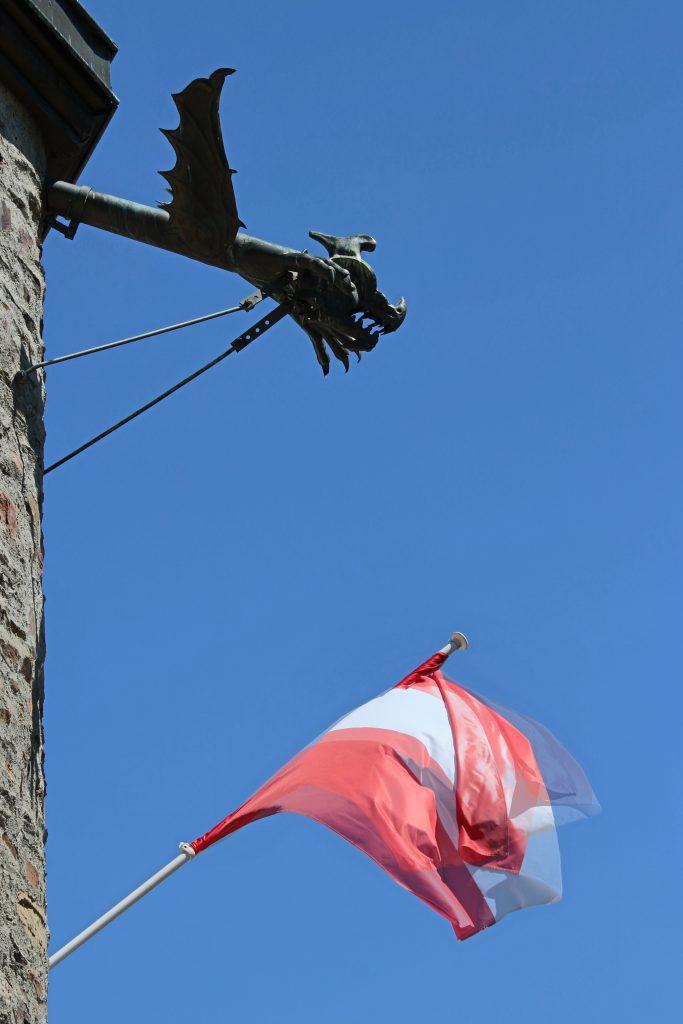 Flag at Castle of Vianden