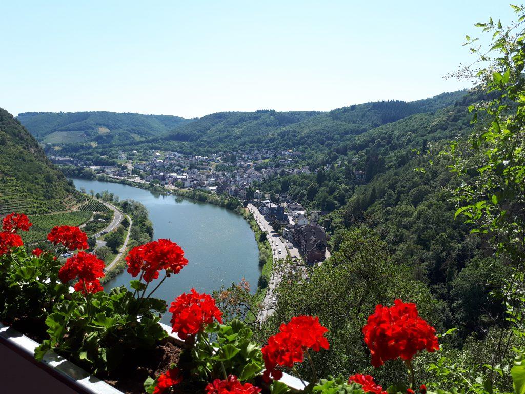View from Reichsburg castle Cochem