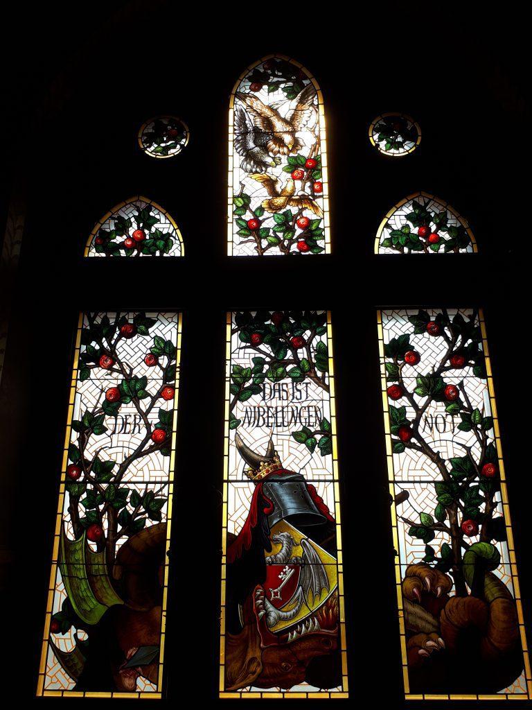 Window of Schloss Drachenburg