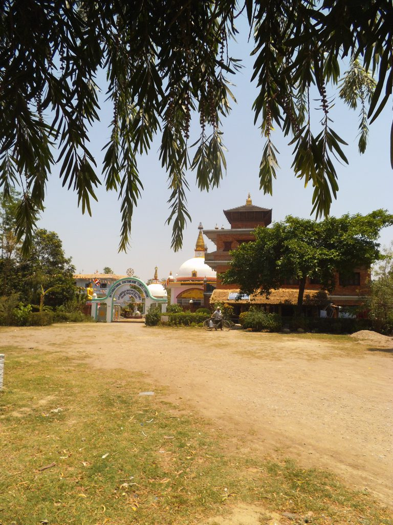One of the other Stupa's in the area