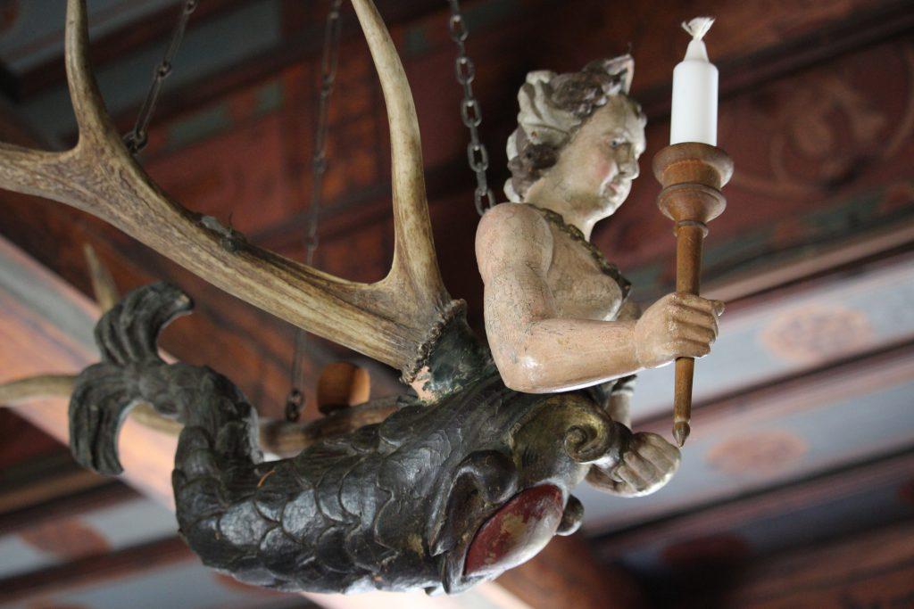 Decoration Reichsburg castle Cochem