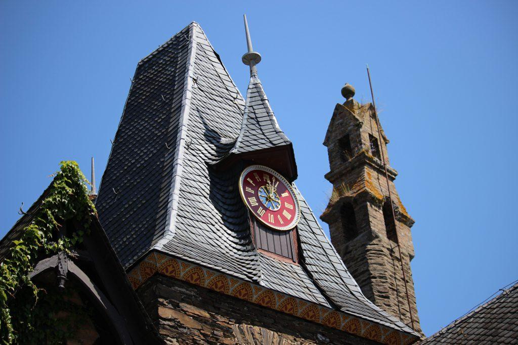 Rooftop Reichsburg castle Cochem