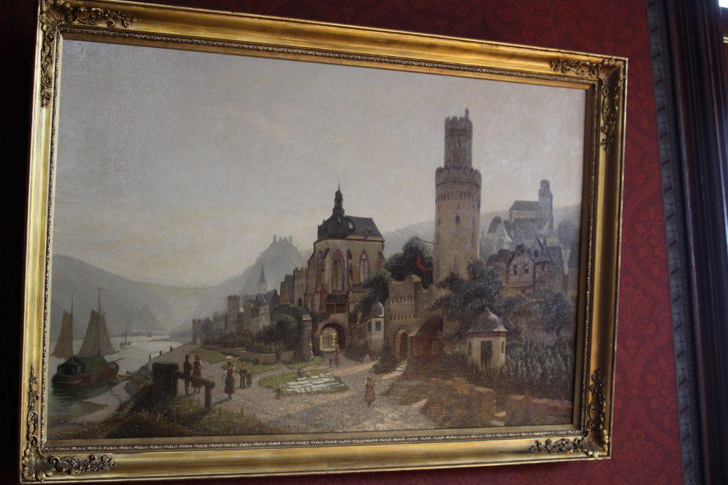 Painting of Schloss Drachenburg