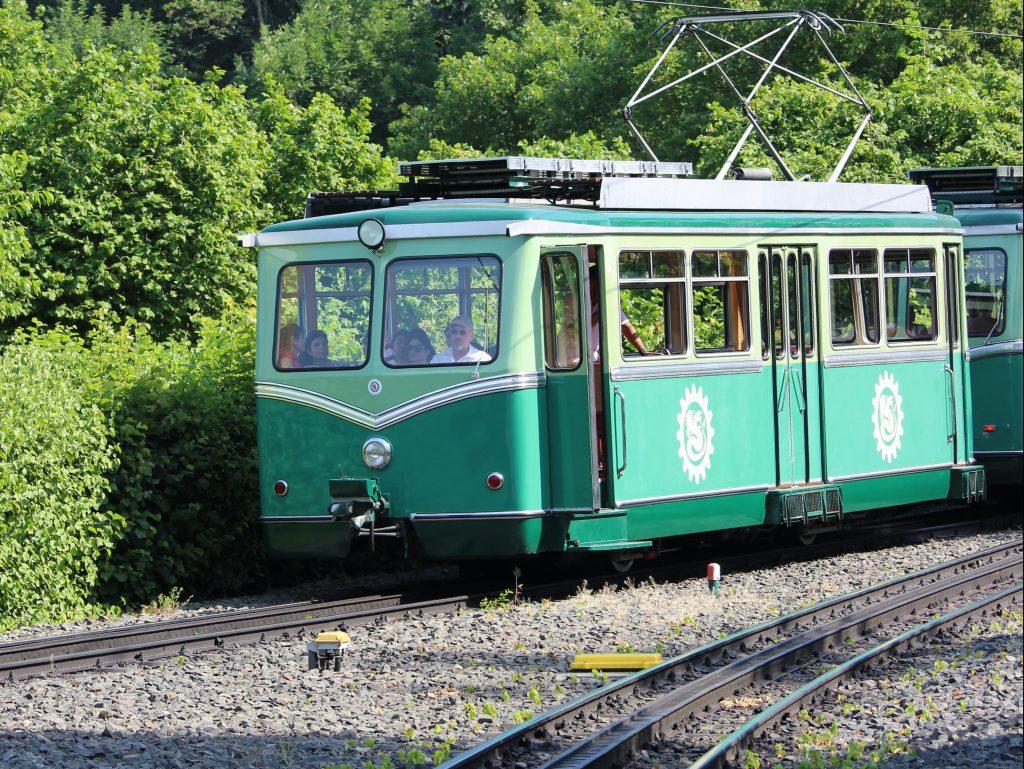 Train on Drachenfels (Dragon Rock)