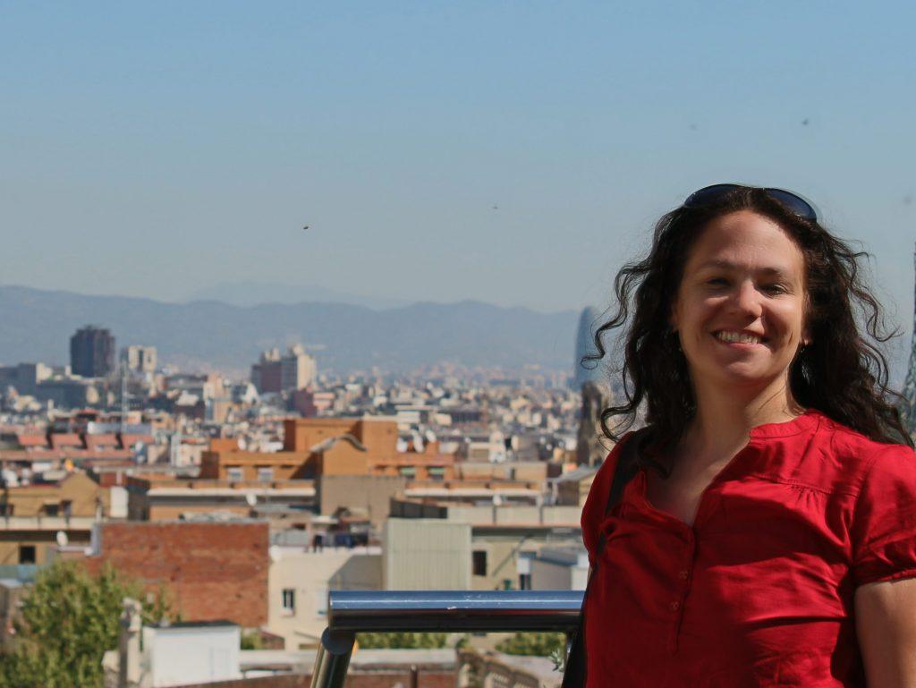 Me in Barcelona in 2017