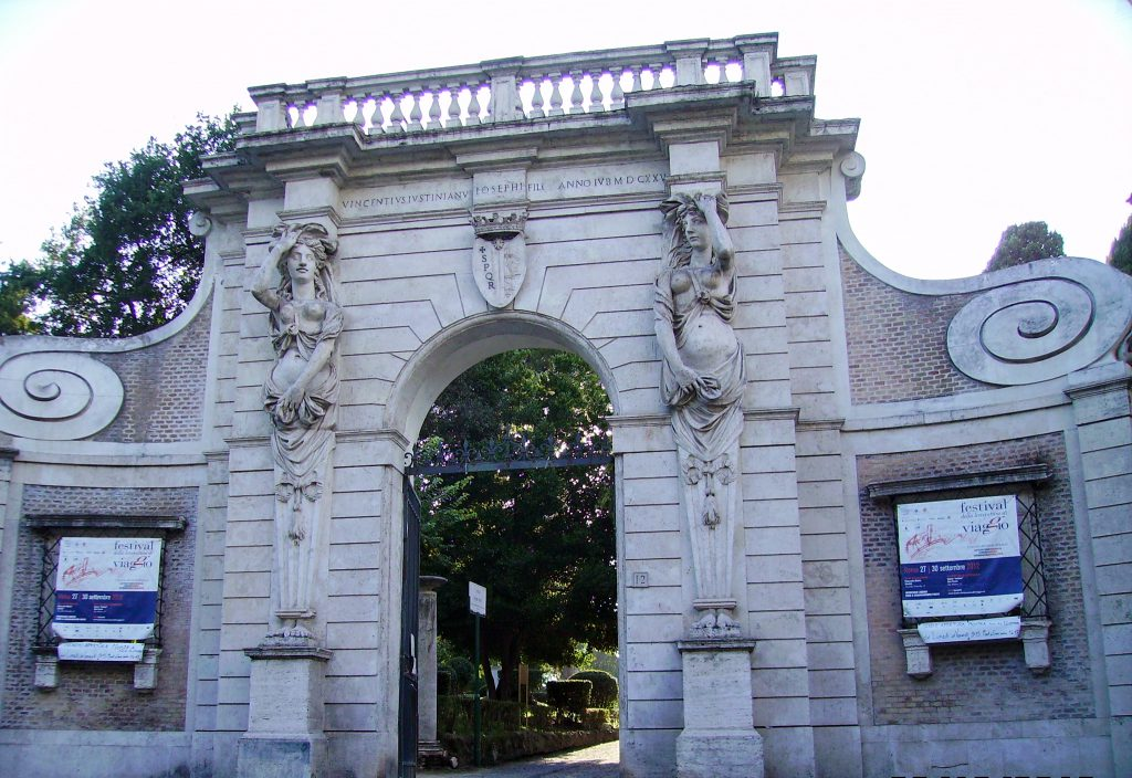 Entrance of the park