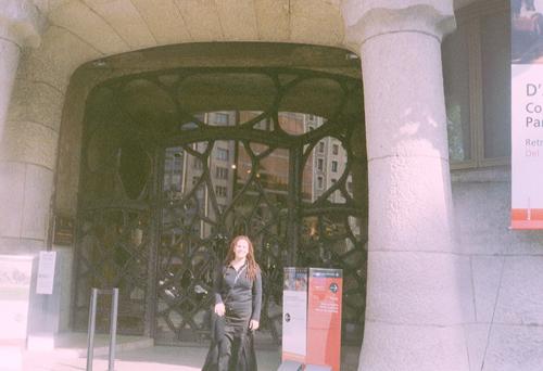 In front of Casa Mila