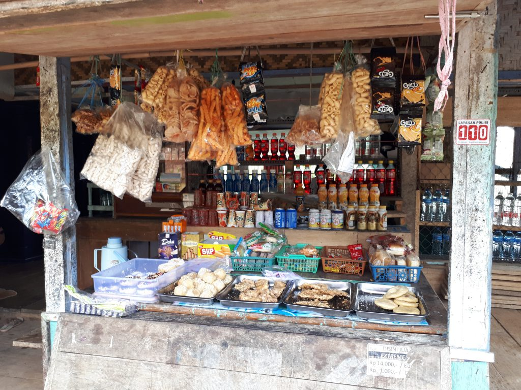 Shop in the moutains of Cianjur