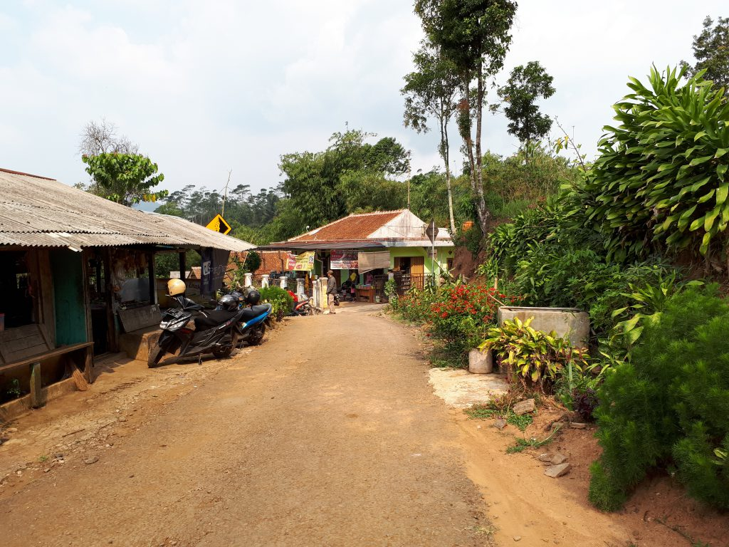 Village in the moutains of Cianjur