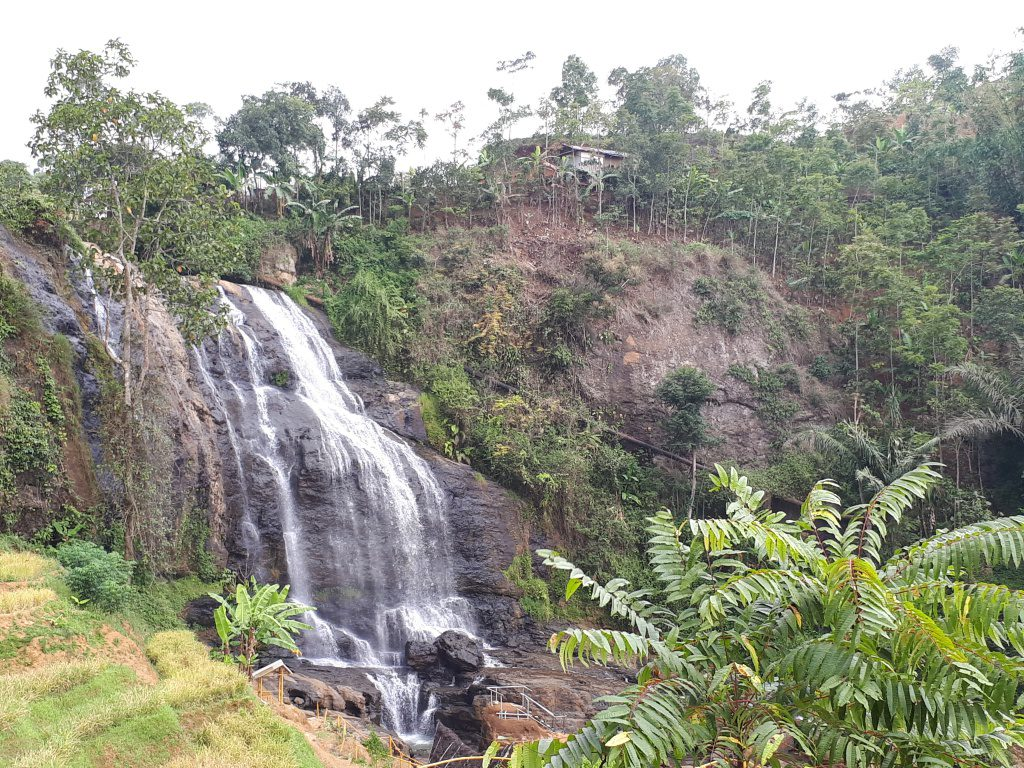 Waterfall in Cianjur