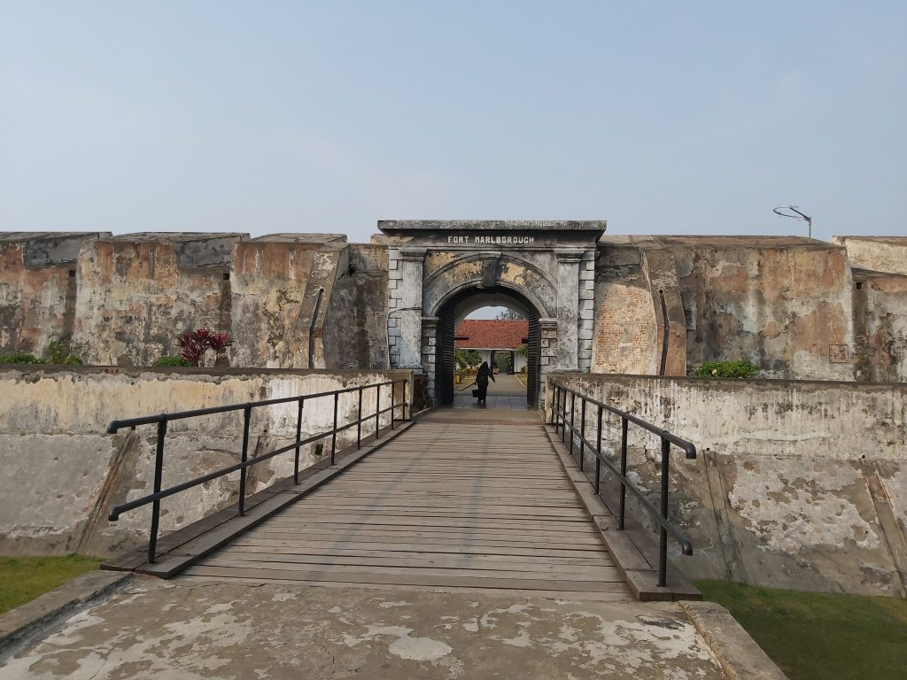 Fort Marlborough, this is where my ancestor worked/lived